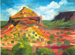 Robin Straub - Cheesebox Butte