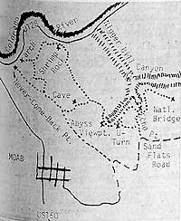 Early Trail Map, Times-Independent Archives