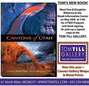 Tom Till Book ad