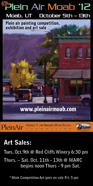 PleinAir Moab 2012 event ad