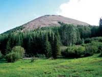 Photo of La Sal mountains