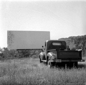Drive-in movie theatre in Moab