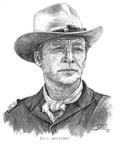 Bill Williams drawing by John Hagner