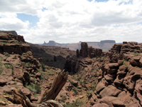 View from Fisher Towers - Photo by Yrma van der Steenstraeten