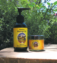 Photo of Arnica Oil products