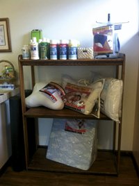Supplies offered at Red Valley Chiropractic
