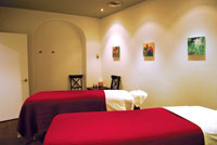 Couples massage room image
