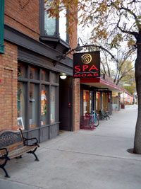 Spa Moab building