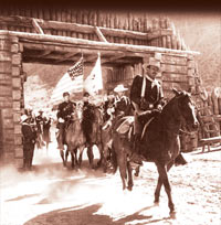 A picture from the movie Rio Grande