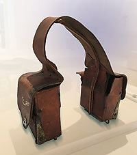 Doc Williams Saddle Bags, Moab Museum.