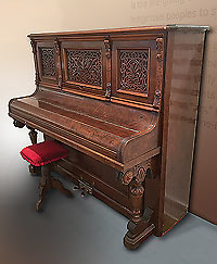 Moab's first piano, Moab Museum.