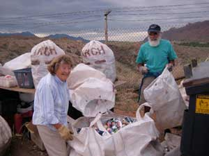 Canyonlands Community Recycling volunteers