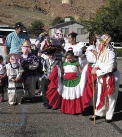 Photo of Dia de las Madres, or Mothers Day festivities